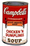 Campbell's Soup II - Chicken 'N' Dumplings - click to enlarge