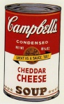 Campbell's Soup II - Cheddar Cheese - click to enlarge