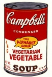 Campbell's Soup II - Vegetarian Vegetable - click to enlarge