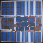Blue Brown Interweave - click to enlarge