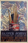 Savarin, Jasper Johns, 18 October 1977 to 22 January 1978 - click to enlarge