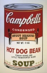 Campbell's Soup ll, Hot Dog Bean - click to enlarge
