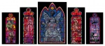 Stained Glass Window Set - click to enlarge