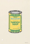 Soup can (yellow green) - click to enlarge