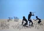 banksy Trolley Hunters - click to enlarge