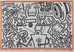 Keith Haring at Robert Fraser Gallery - click to enlarge