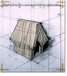 Wrapped Snoopy House (Project for Charles Schultz Museum) - click to enlarge