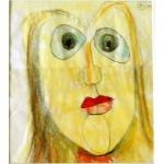 Woman with Yellow Face - click to enlarge