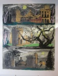 Clytha Folly Triptych - click to enlarge