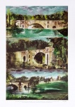 Blenheim Bridge Triptych - click to enlarge