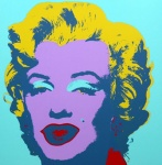 Marilyn No 23, Sunday B Morning (after A. Warhol) - click to enlarge