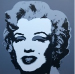* Marilyn No 24, Sunday B Morning (after A. Warhol) - click to enlarge