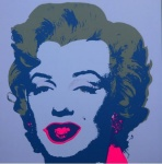 * Marilyn No 26, Sunday B Morning (after A. Warhol) - click to enlarge