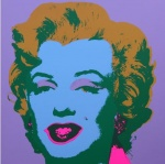 * Marilyn No 28, Sunday B Morning (after A. Warhol) - click to enlarge