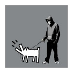 Banksy Choose Your Weapon Grey ED 100 - click to enlarge