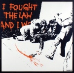 I Fought the Law Unsigned - click to enlarge