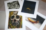 RARE FULL SET OF 4 PRINTS BY DAMIEN HIRST - click to enlarge