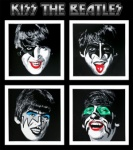 Kiss the Beatles - click to enlarge