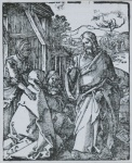 Christ Taking Leave of His Mother (The Small Passion) - click to enlarge