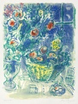 Corbeille de fruits et ananas (Basket of Fruit and Pineapples), 1964 - click to enlarge