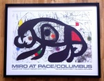 Miro at Pace/Columbus January 21st to February 24th 1979  - click to enlarge