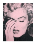 MARILYN CRYING -POWDER PINK - click to enlarge