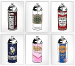 Spray Cans - click to enlarge