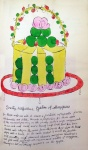 Dorothy Killgallen's Gateau of Marzipan From Wild Raspberries - click to enlarge