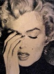 Marilyn Crying- Liquid Gold - click to enlarge