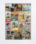 P is for Pachyderm (Elephants) - click to enlarge