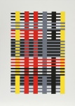 Connections 1925 - 1983 - Study for unexecuted Wall Hanging (Bauhaus) c 1926 - click to enlarge