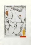 Miracolo, from Tout Pres de Marini, Plate IV, 1971 - click to enlarge