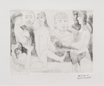 Femme Faisant la Sieste, Entouree de Spectateurs, from the 347 Series, 10 June, 1968 - click to enlarge