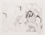 La Fete de la Patronne, Fleurs et Baisers Degas S'amuse, from the 156 Series, 16 May, 1971 - click to enlarge