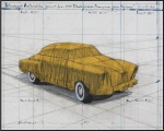 Wrapped Automobile (Project for 1950 Studebaker Champion, Series 9 G Coupe) - click to enlarge