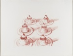 Six Desserts, from Recent Etchings II, 1973 - click to enlarge