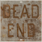 Dead End 1, from Rusty Signs, 2014 - click to enlarge