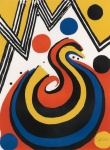 Abstract Composition in Red, Yellow, Blue and Black - click to enlarge