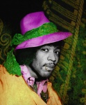 Jimi with Hat - click to enlarge