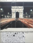 Arc de triomphe, wrapped - click to enlarge
