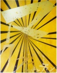 Untitled (Canary Yellow and Black Butterfly 830)  - click to enlarge