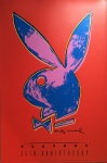 Andy Warhol Playboy 35th anniversary Poster - click to enlarge