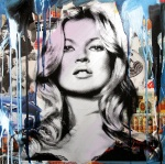 KATE MOSS (BLUE) - click to enlarge