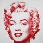 DIAMOND GIRL (RED) – MARILYN MONROE - click to enlarge