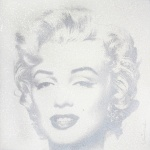 DIAMOND GIRL (SILVER) – MARILYN MONROE - click to enlarge