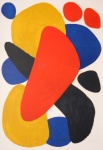 ABSTRACT COMPOSITION WITH RED, YELLOW, BLUE - click to enlarge