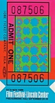 Lincoln Center Film Festival Ticket (Feldman & Schellmann II.19) - click to enlarge