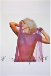 Marilyn: Pink Scarf - click to enlarge