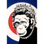 Monkey Queen Signed - click to enlarge