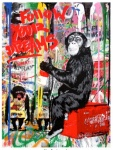 Everyday Life - Follow Your Dreams (Banksy Monkey) - click to enlarge